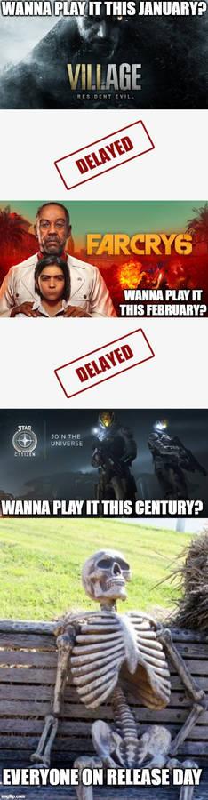 Major game delays