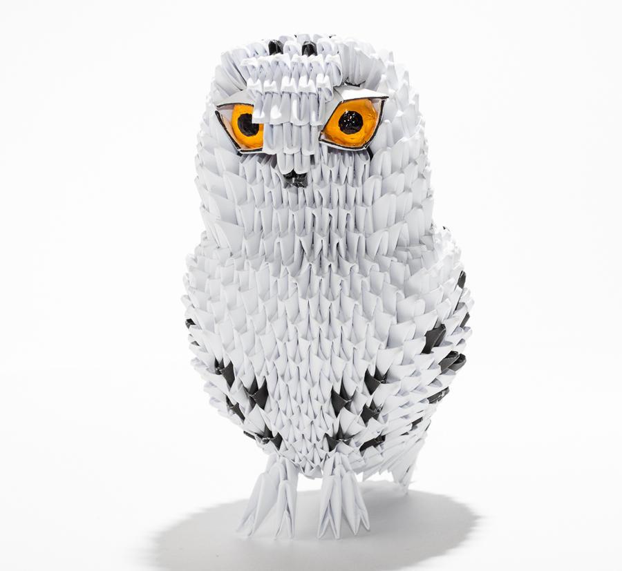 Origami Snowy Owl by Karnoffel on DeviantArt