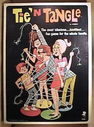 A Funny Game! Directly from 1967... Tie 'n Tangle! by Dreamerforever2004