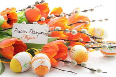 Happy Easter! - Buona Pasqua! by Dreamerforever2004