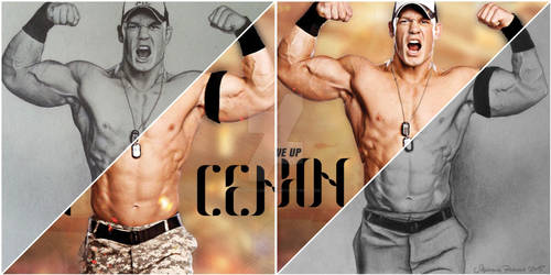 Drawing vs. Original John Cena