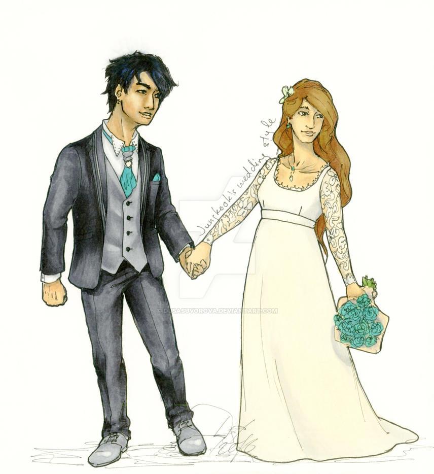Jungkooks Wedding Style By Dusasuvorova On Deviantart