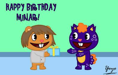 Happy Birthday Minar! by Cholnatree