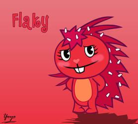 Flaky eyelashes by Cholnatree