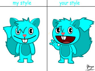 Nippy The Fox My Style, Your Style by Cholnatree