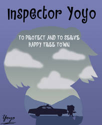 To Protect and To Serve Happy Tree Town Poster by Cholnatree