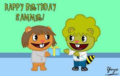 Happy Birthday Sammir! by Cholnatree