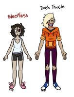 [A] Creepypasta Adopts OPEN 0/2 by DualJewels