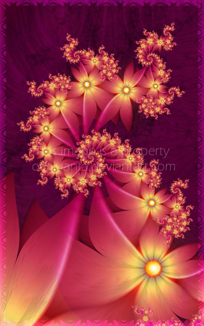 Heat flowers by Liuanta