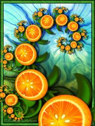Orange twist for Anna by Liuanta