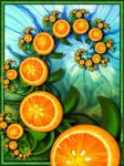 Orange twist for Anna