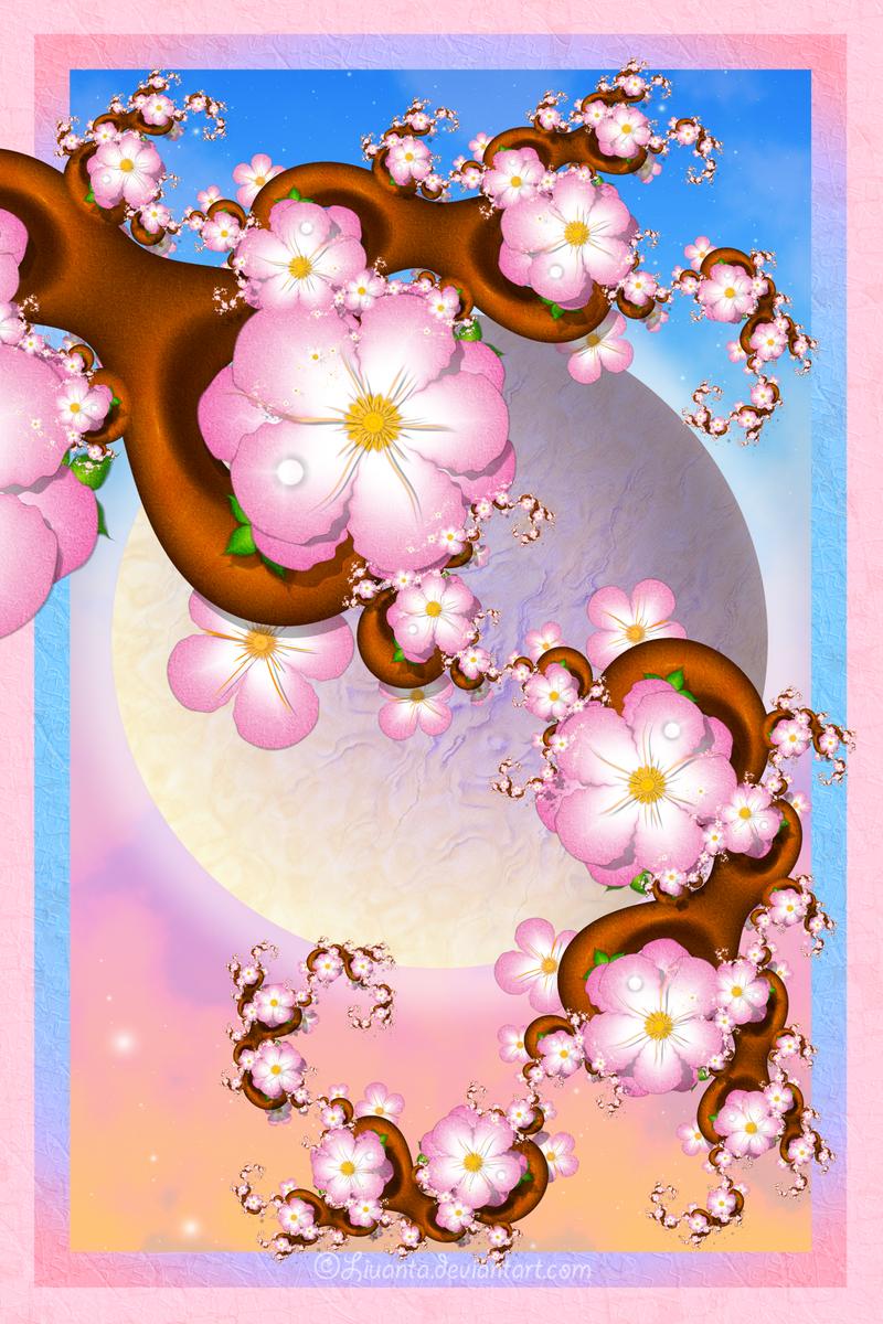 Sakura for Jocelyne by Liuanta