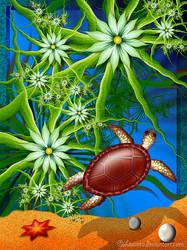 Turtle paradise by Liuanta