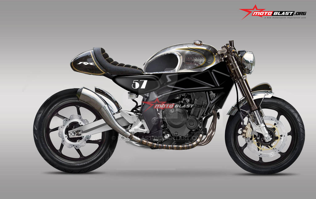 HONDA CBR250RR Cafe Racer Modification V2 By MOTOBLAST