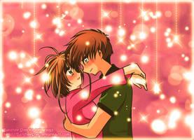 [Card Captor Sakura] Kiss the Girl ~ Gift by Tsubaki-Kanon