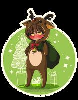 [Xmas 2013] #2 - Awkward Reindeer by Tsubaki-Kanon