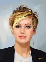 Jennifer 1 by ALVALERA