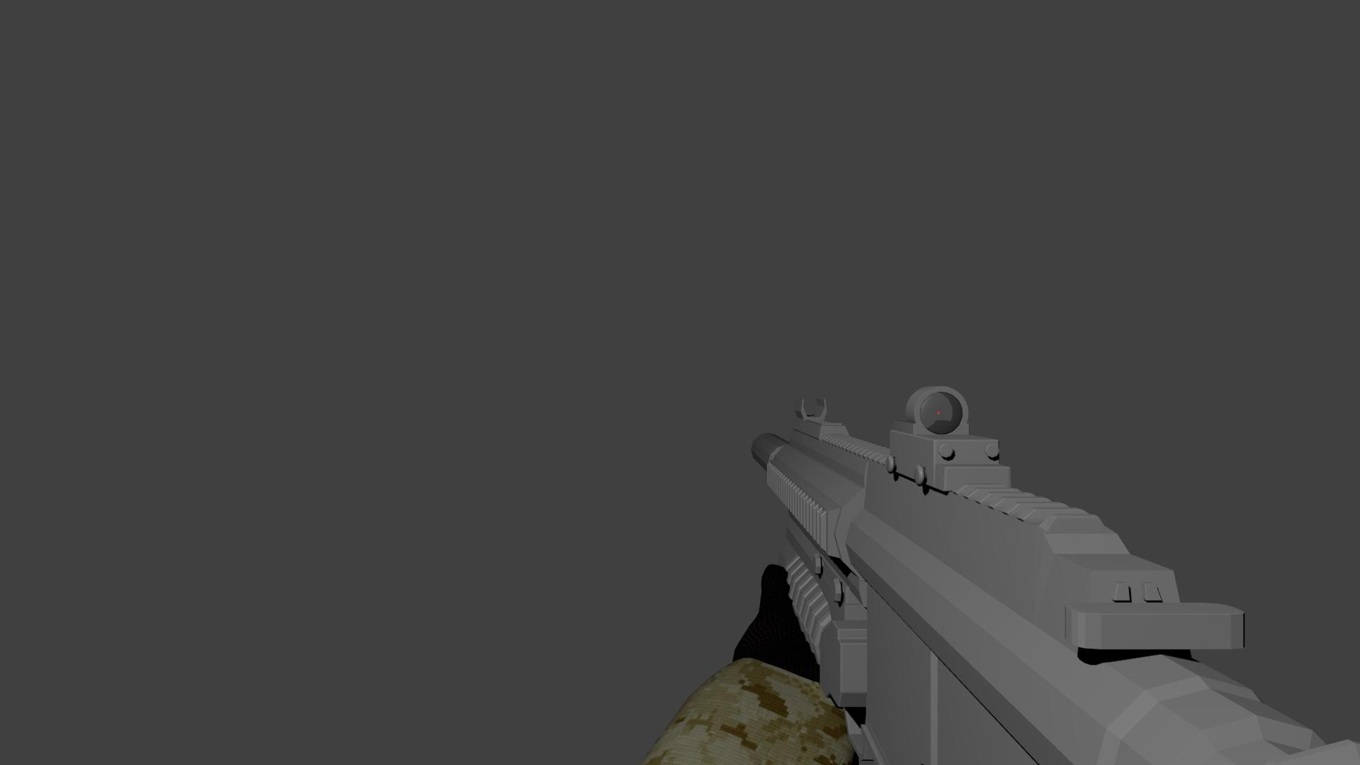 3d m416 preview render by superman999 on deviantart - M416 wallpaper ...