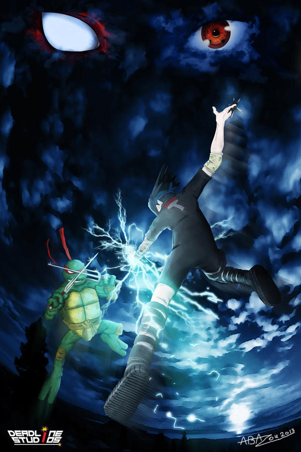 Sasuke vs Raf by abazou