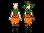 Kisekae Pumpkin Dress + Exports
