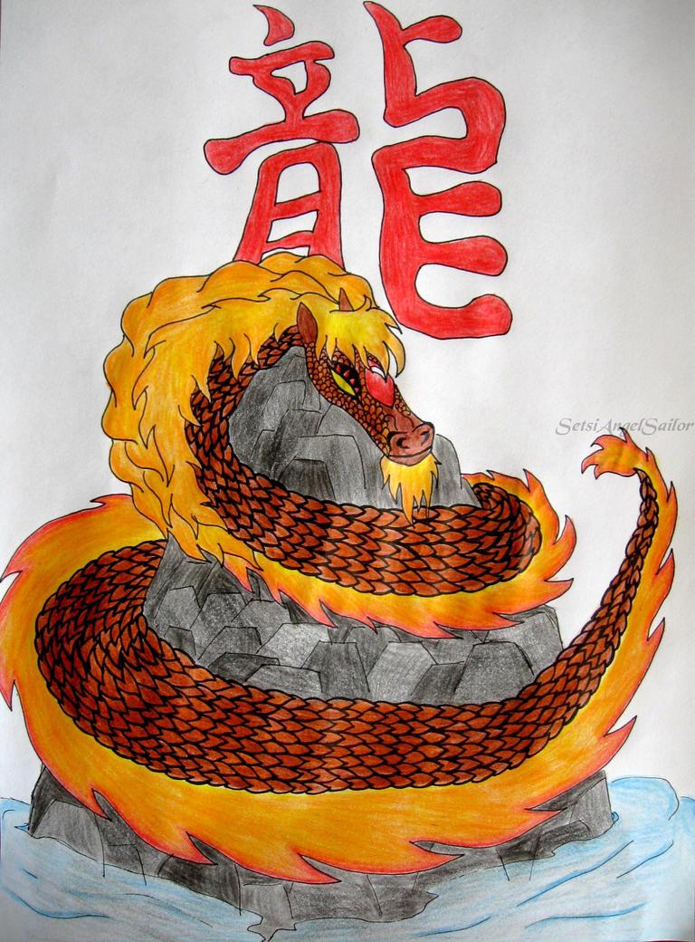 My Fire Dragon by Angie-AgnieszkaB