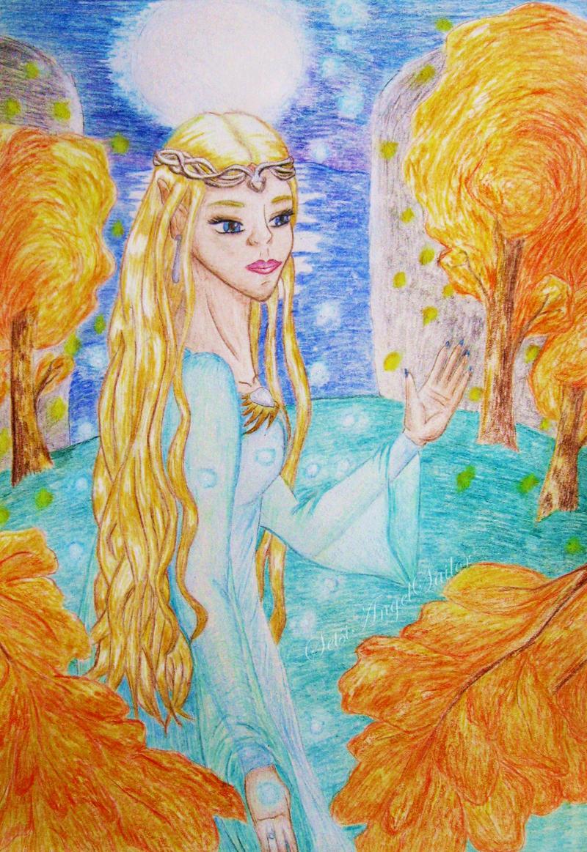 Galadriela by Angie-AgnieszkaB