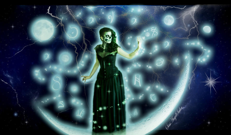 Moon Witch by Angie-AgnieszkaB