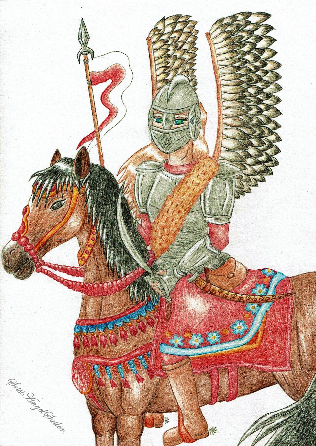 Polish hussar's girl by Angie-AgnieszkaB