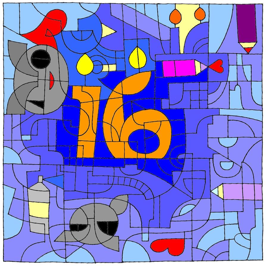 16th dA BDAY !!! by Angie-AgnieszkaB