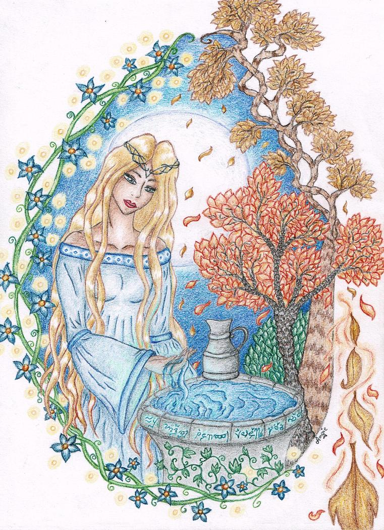 Galadriel by Angie-AgnieszkaB