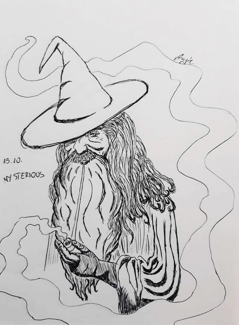 Gandalf by Angie-AgnieszkaB