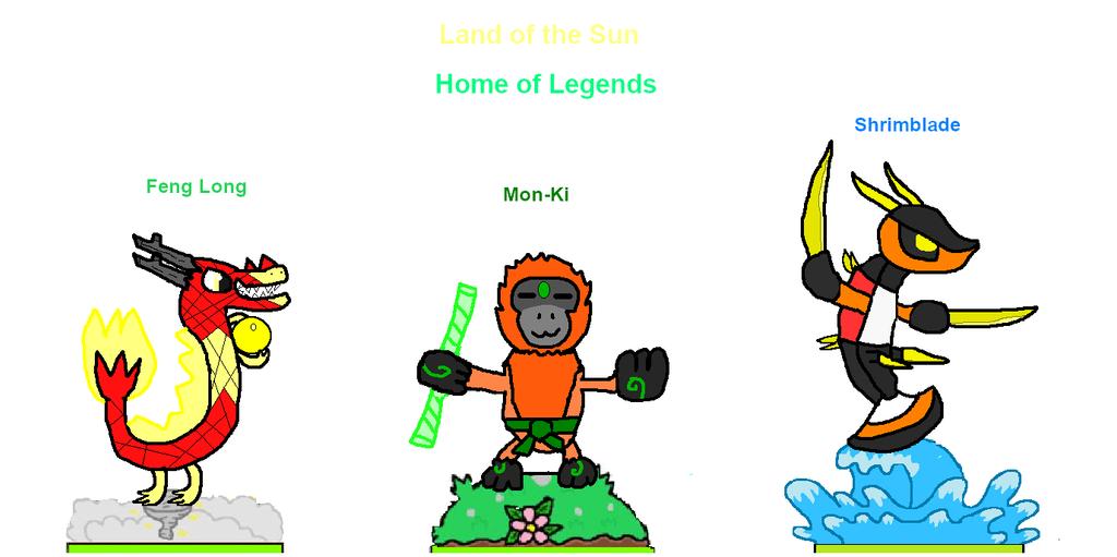 Skylanders Unleashed: Land of the Sun by puglordseba