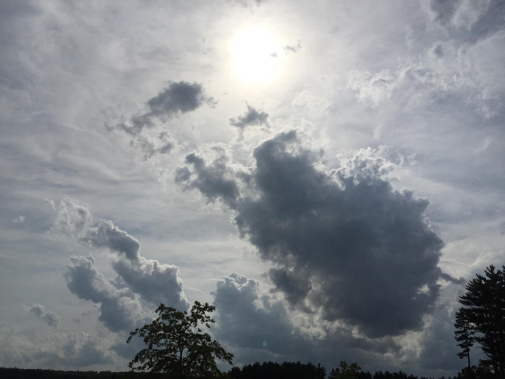 Sun and Clouds by Skytower