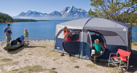 Coleman H&ton 9 Person Tent by Outdoorfriend ... : coleman hampton cabin tent - memphite.com