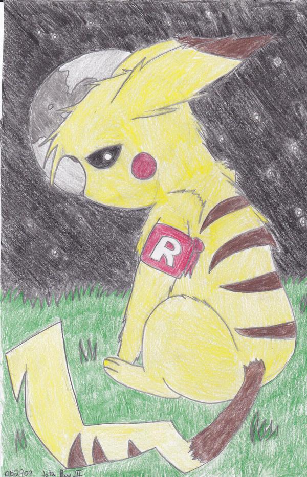 Team rocket pikachu - photo#17