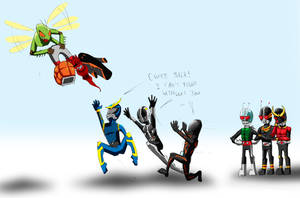 The Problem with Kamen Rider Nowadays by Metrosaurus