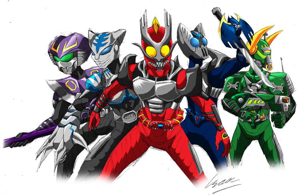 Kamen Rider Ryuki (Kabuto Style) by Metrosaurus on DeviantArt