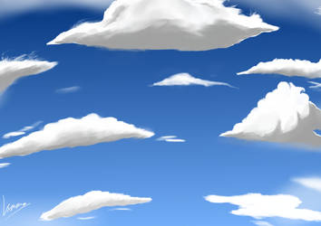 Sky and Cloud by Metrosaurus