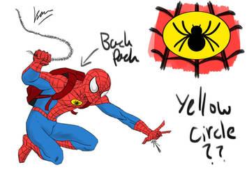 Idea Dump: Spider Man Yellow by Metrosaurus