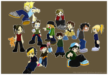 BBT Chibi members --complete-- by Genocidebb-Shadow