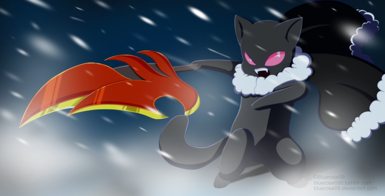 Doodle Catsona SnowStorm