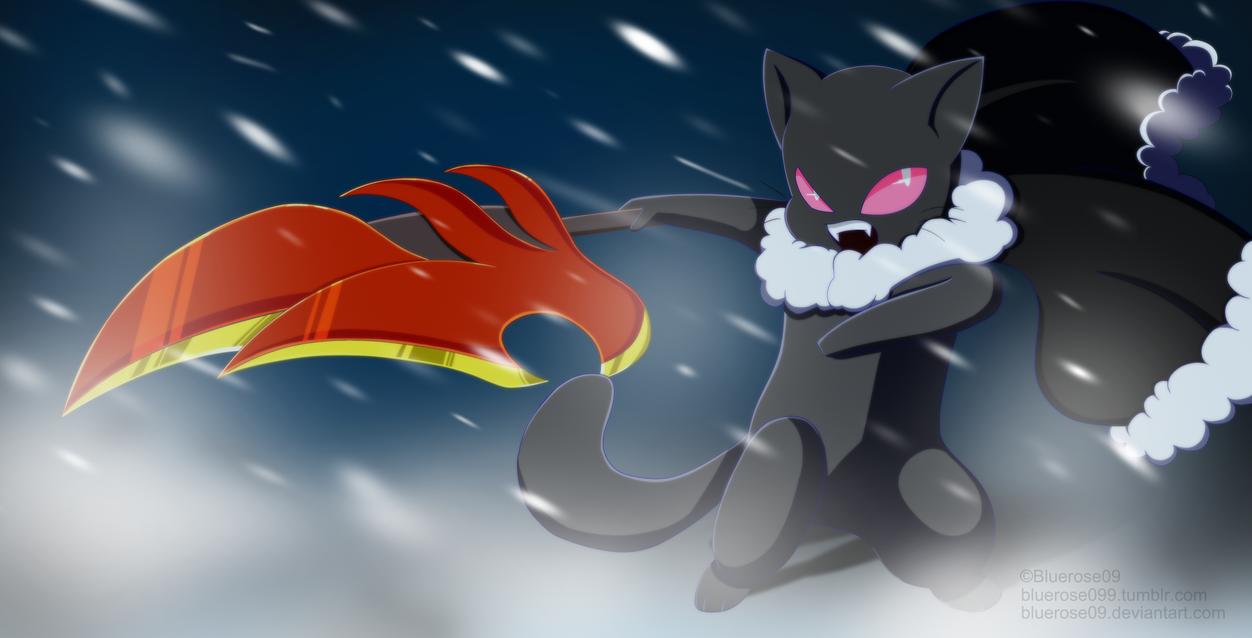 Doodle Catsona SnowStorm