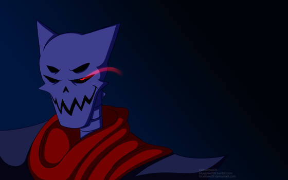 Underdarkness Papyrus Evil Stare Wallpaper 1920res