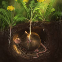 Earth Mouse by love--or--death