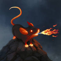 Fire Mouse