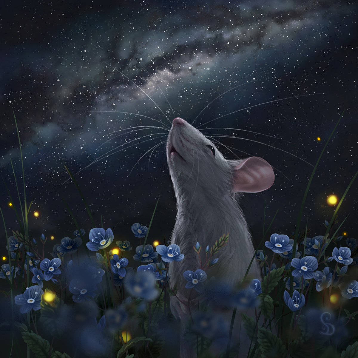 Stars Mouse