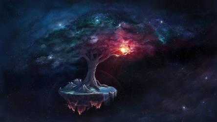 Cosmic Tree of Life