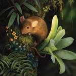 Jungle Mouse by love--or--death