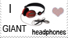 Attempt stamp GIANT headphones by photog-road