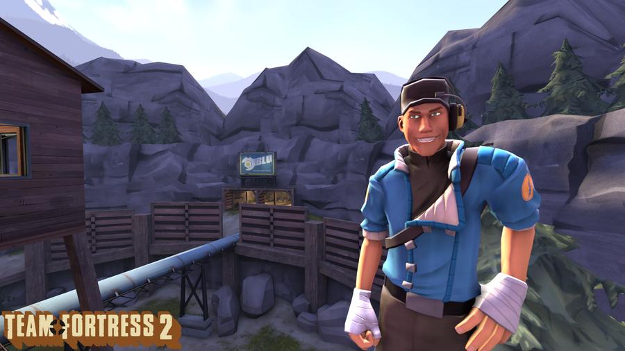 SFM: Scout by Creker12345